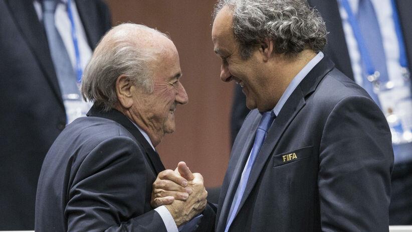 FIFA pozywa Platiniego i Blattera