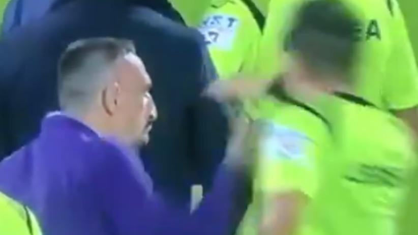 Franck Ribery zaatakował sędziego