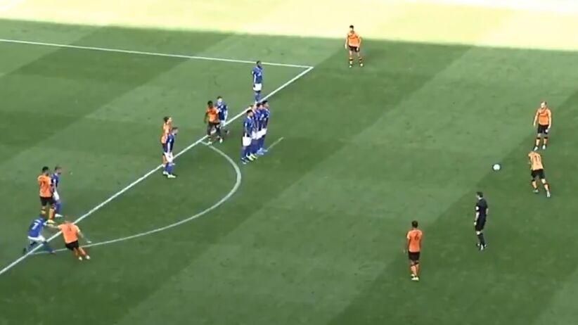 Kamil Grosicki z golem w meczu z Cardiff