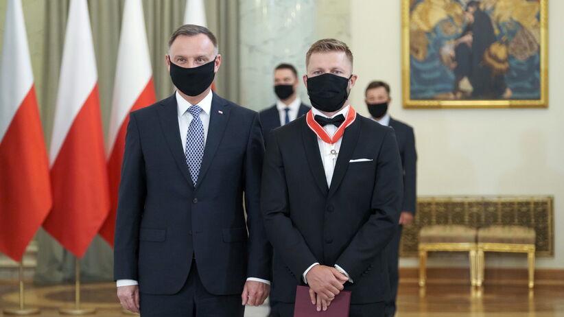 Jakub Błaszczykowski odznaczony przez prezydenta Dudę