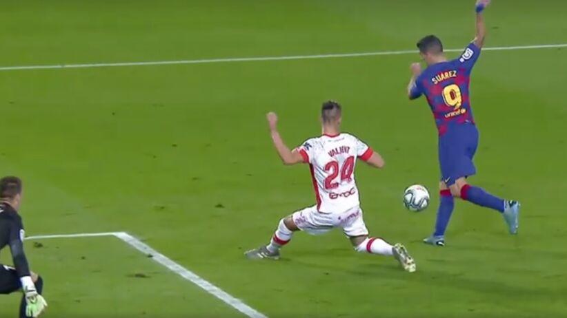 Gol Luisa Suareza w meczu Barcelona - Mallorca