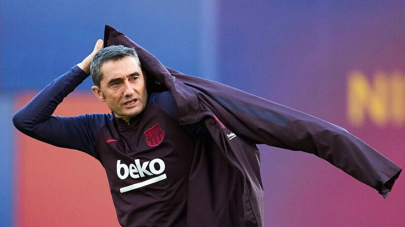 Ernesto Valverde zwolniony z Barcelony