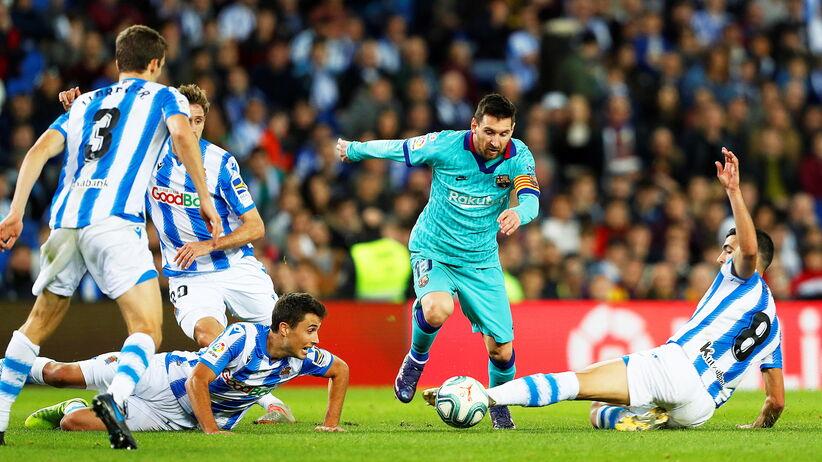 Barcelona zremisowała z Realem Sociedad