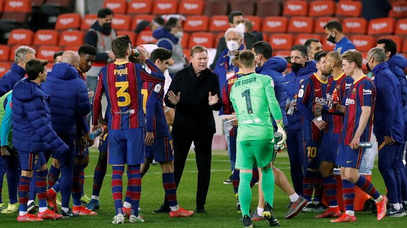 Ogromna radość Messiego po bramce dla Barcelony. Gol w ostatnich sekundach