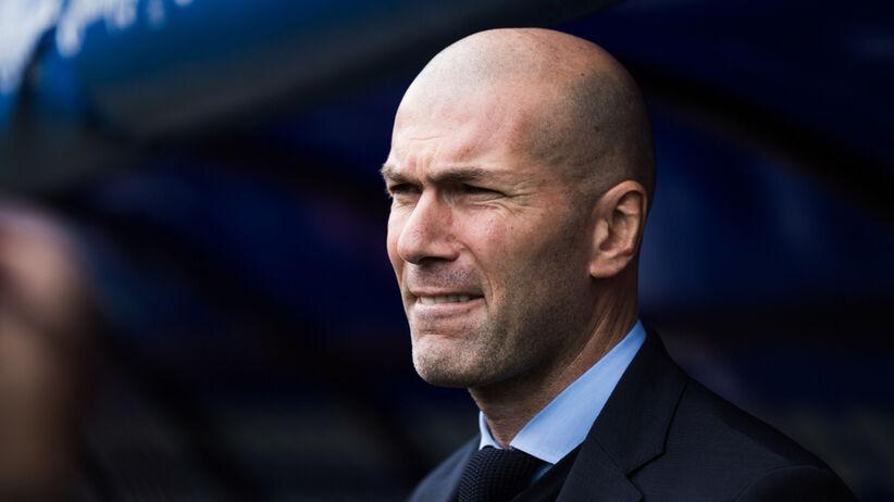 Zinedine Zidane spowodował kolizję