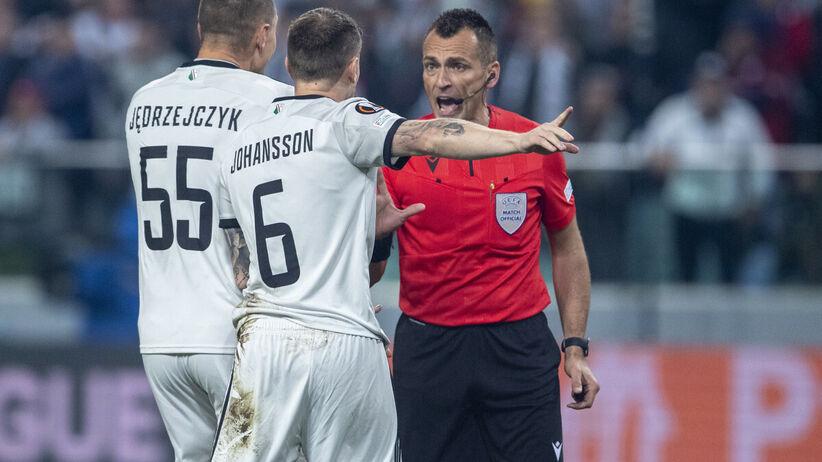 Ivan Bebek może zostać zawieszony. Kłopoty sędziego meczu Legia - Leicester