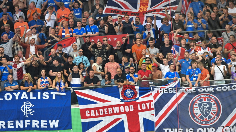 Rangers ukarani przez UEFA