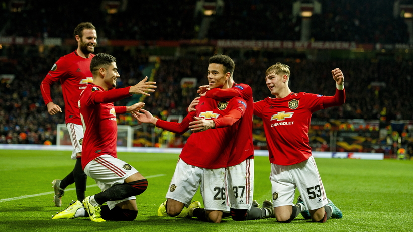 Manchester United w Lidze Europy