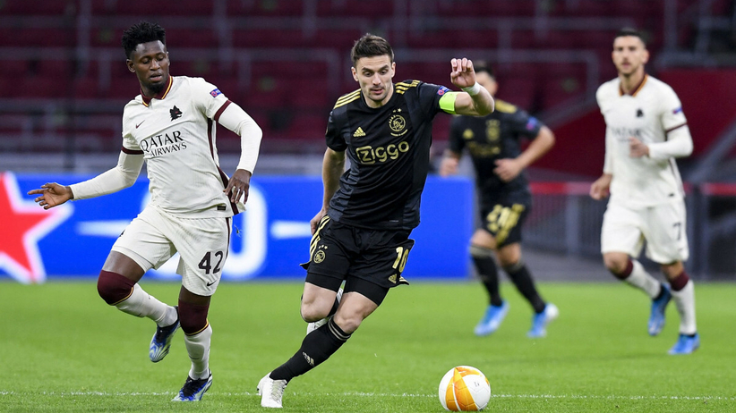 Roma - Ajax: transmisja
