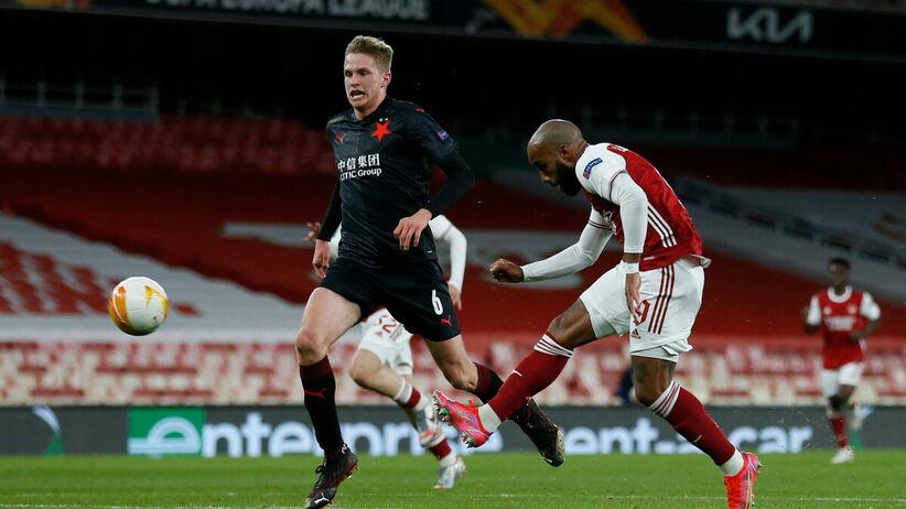 Slavia - Arsenal: transmisja