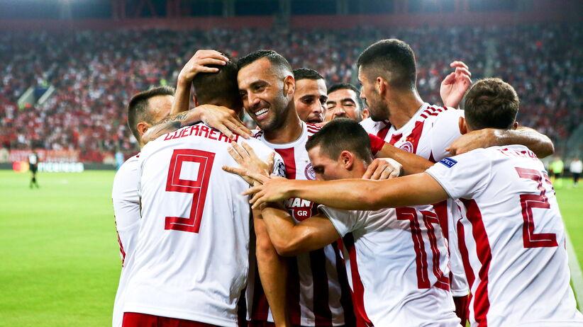 El. LM: Olympiakos nie dał szans rywalom. Pewne zwycięstwo Dinama, remis w Bernie