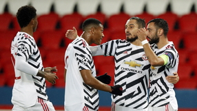 Liga Mistrzów: Manchester United pokonał PSG. Wielkie emocje w Paryżu
