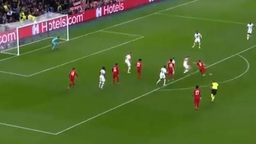 Gol Lewandowskiego z Tottenhamem