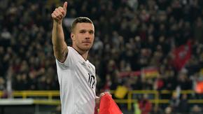 Lukas Podolski porozumiał się z byłym klubem. Piłkarz nie dla Górnika Zabrze
