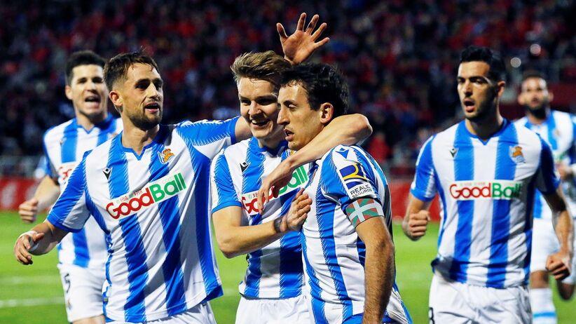 Real Sociedad w finale Pucharu Króla