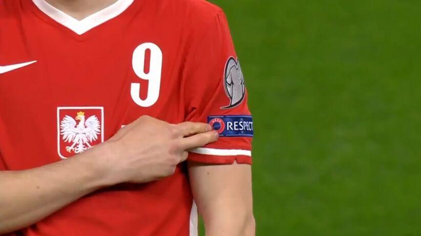 Polscy piłkarze nie klęknęli przed meczem z Anglią