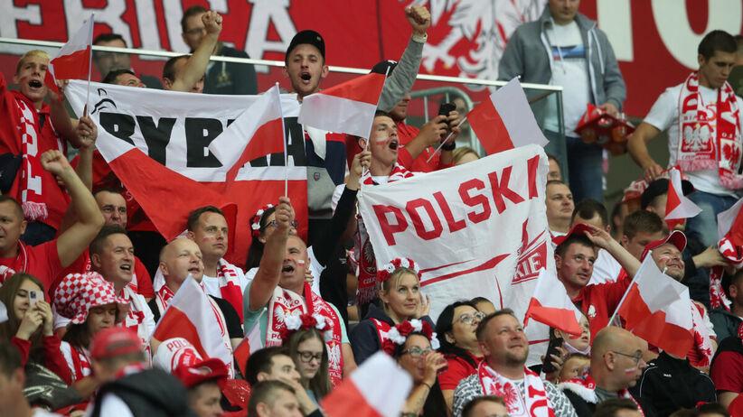 Polska - Anglia. Piękny obrazek z meczu el. MŚ 2022. Mama zabawiała dziecko na trybunach czytając mu książkę