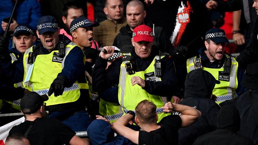 Zamieszki na meczu Anglia - Węgry