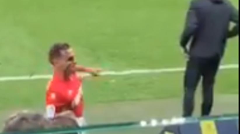 piłkarz AS Monaco skopał monitor do VAR