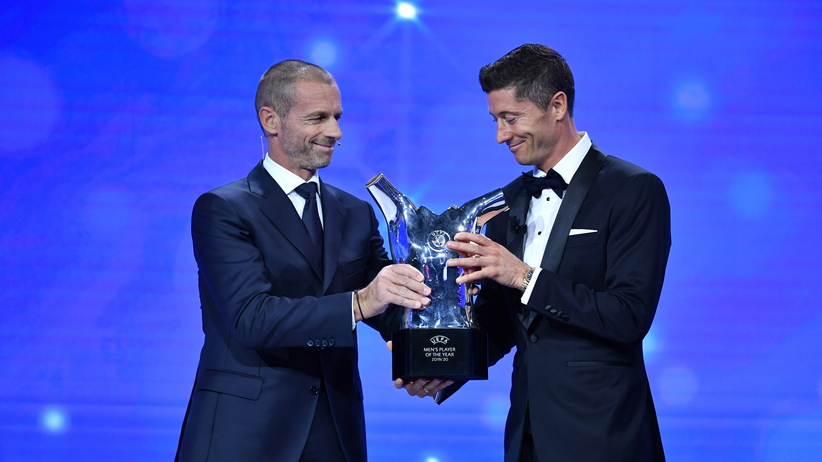 Robert Lewandowski najlepszym piłkarzem w Europie