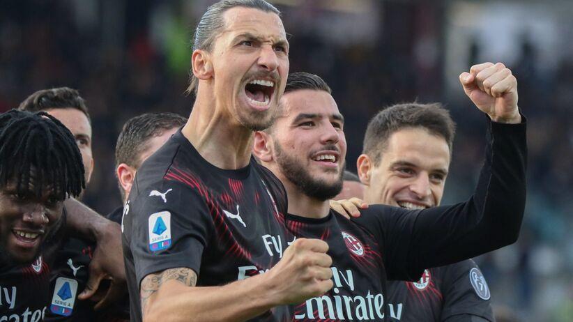 Gol Zlatana Ibrahimovicia dla Milanu