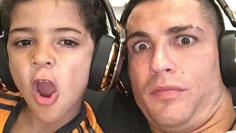 Syn Cristiano Ronaldo może mieć problemy