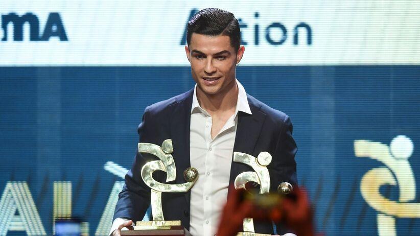 Cristiano Ronaldo najlepszym piłkarzem Serie A