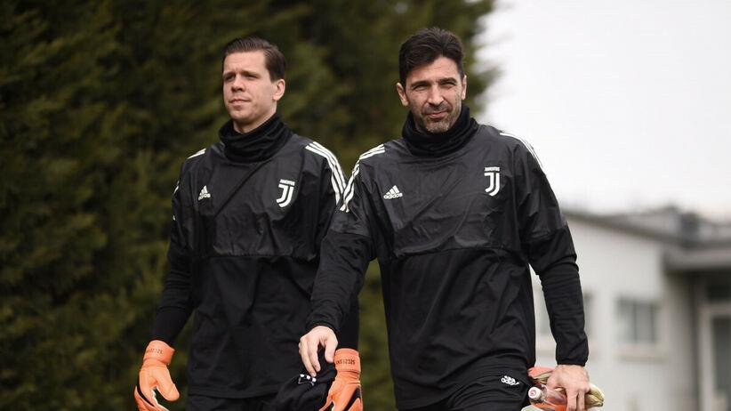 Gianluigi Buffon i Wojciech Szczęsny