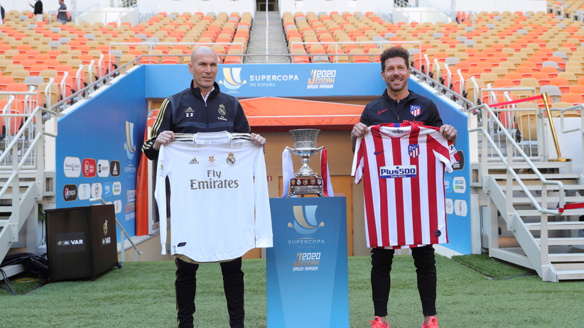 Real Madryt - Atletico Madryt w finale Superpucharu Hiszpanii