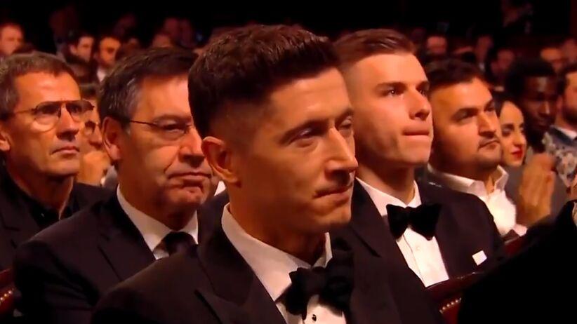 Wymowna reakcja Lewandowskiego na 8. miejsce w plebiscycie Złotej Piłki
