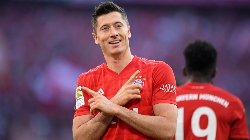 Robert Lewandowski Złoty But 2019