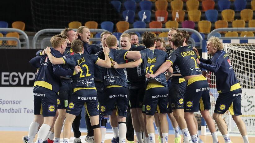 MŚ piłkarzy ręcznych: Niespodzianka w półfinale. Szwecja wyeliminowała Francję