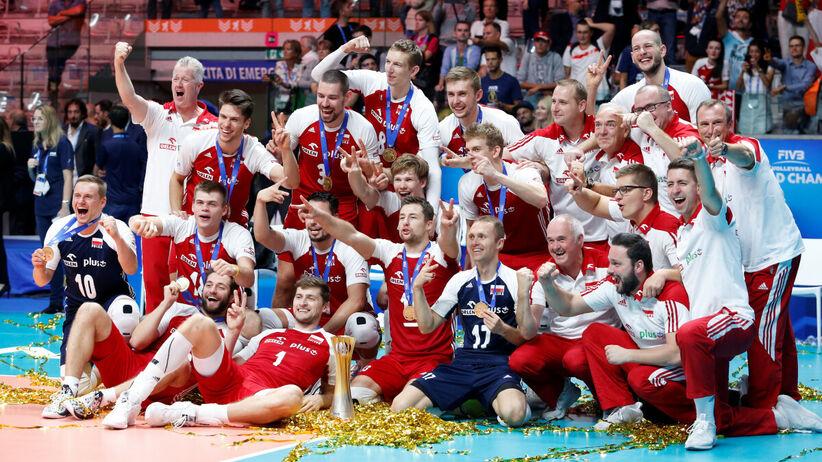 polscy siatkarze z mistrzostwem świata 2018