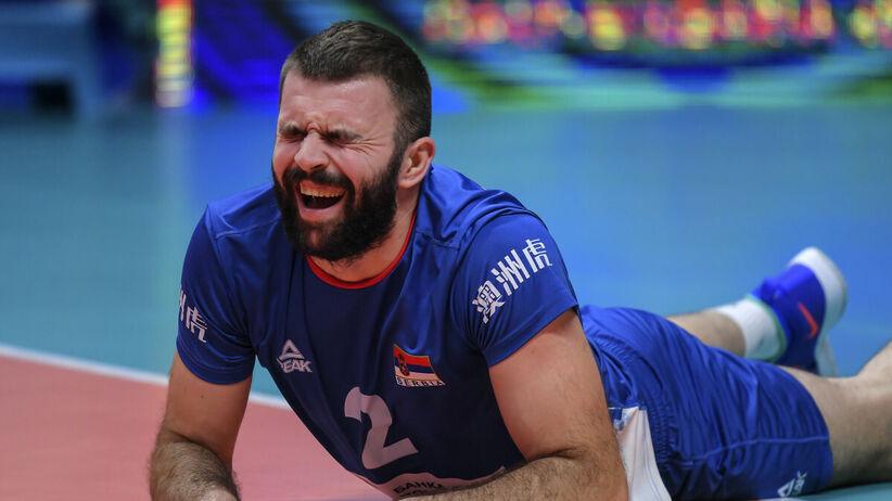 Uros Kovacević siatkarzem Aluronu