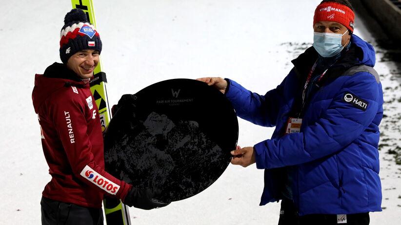 Kamil Stoch i Sandro Pertile