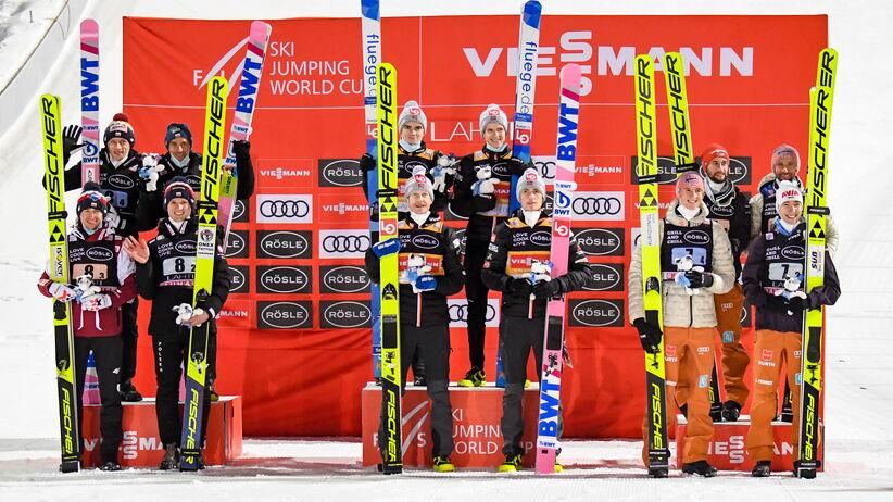 Konkurs drużynowy w Lahti