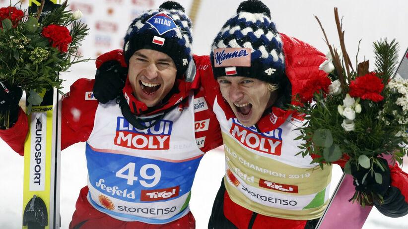Kamil Stoch i Dawid Kubacki