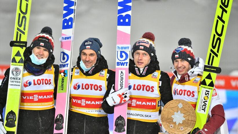 Andrzej Stękała w konkursie drużynowym w Zakopanem