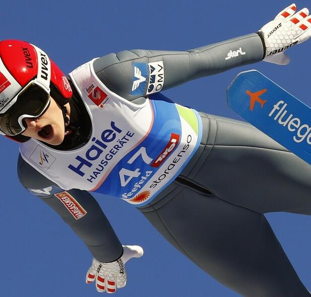 Skoki narciarskie. Koszmarny upadek Evy Pinkelnig. Rozerwała śledzionę
