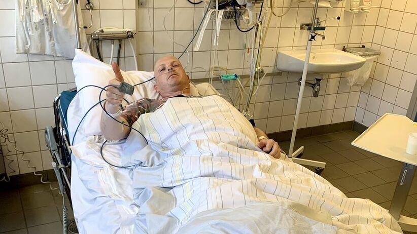 Steinar Bjerkmann miał wypadek na kosiarce