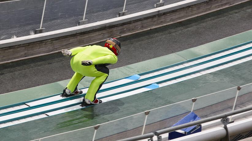 wypadek skoczków narciarskich