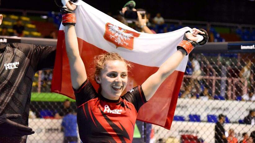 Magdalena Czaban mistrzynią świata w MMA