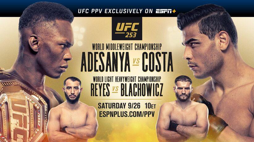 Błachowicz - Reyes, UFC 253