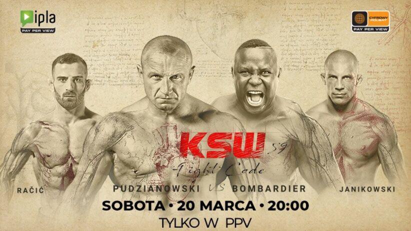 KSW 59: transmisja PPV