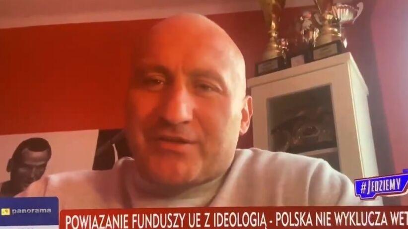 Marcin Najman ekspertem od praworządności i budżetu UE w TVP Info WIDEO - Sport