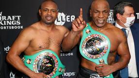 Walka Mike Tyson vs Roy Jones Jr. na remis. Pojedynek legend nie wyłonił zwycięzcy