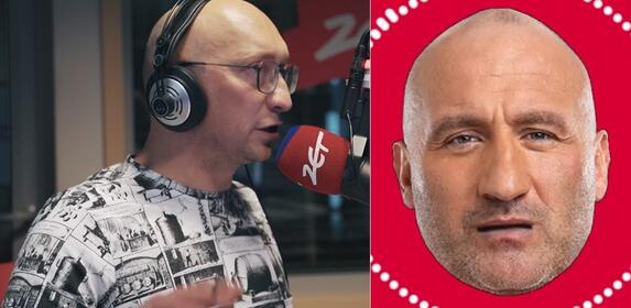 """Nosel wkręca Marcina Najmana: """"Czy ja z poważną osobą rozmawiam?"""""""