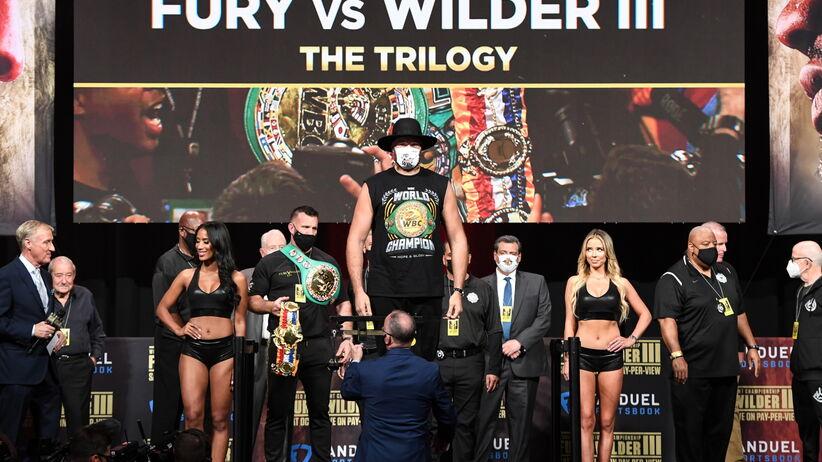 Tyson Fury i Deontay Wilder najciężsi w karierze