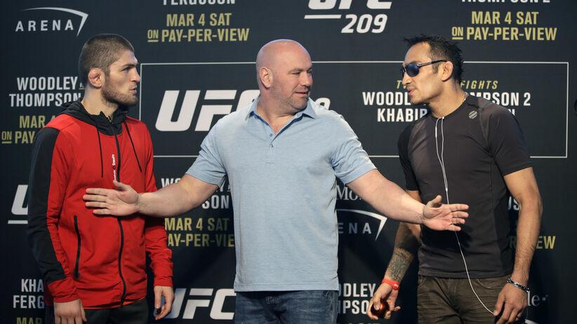 zawodnik UFC zaczął strzelać do ludzi w barze?
