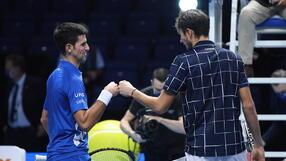 ATP Finals: Porażka Djokovicia, Miedwiediew w półfinale turnieju w Londynie